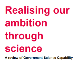 Government Science Capability Review