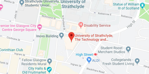 NPL Strathclyde map