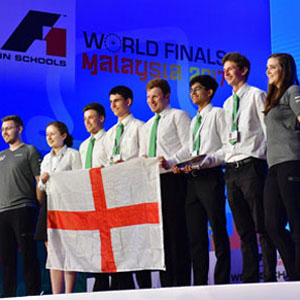 Apprentices win R&D award at F1 in Schools World Finals